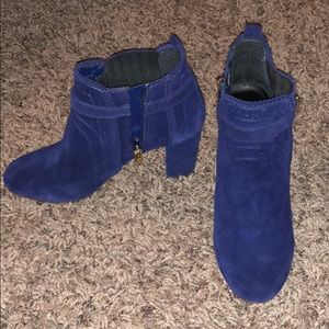 Dolce vita size 8 Thora navy suede shoes